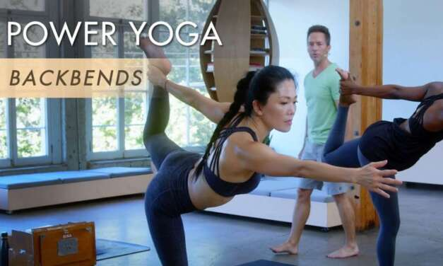 """75min. Power Yoga """"Backbends"""" With Travis"""