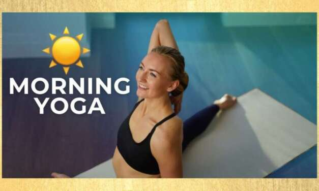10 Min Morning Yoga Stretch For BEGINNERS – Day #1 (10 MIN BEGINNER YOGA)