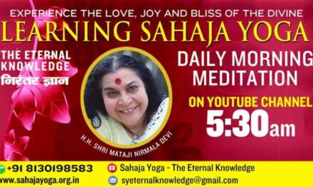 Feb 21, 2021 | Morning Meditation  | Sahaja Yoga – The Eternal Knowledge