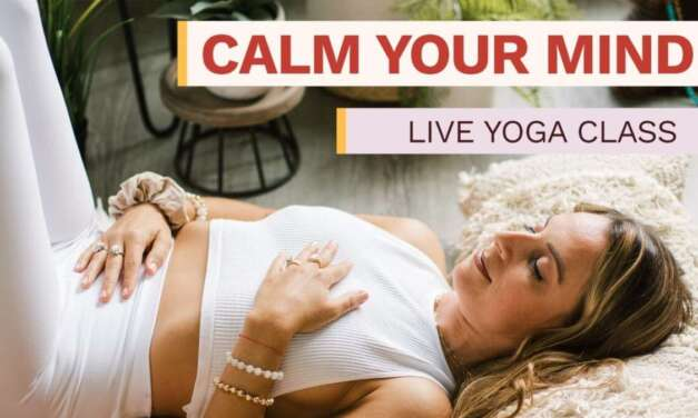 Live Yoga Class With Allie VF | Calm Your Mind & Feel Empowered