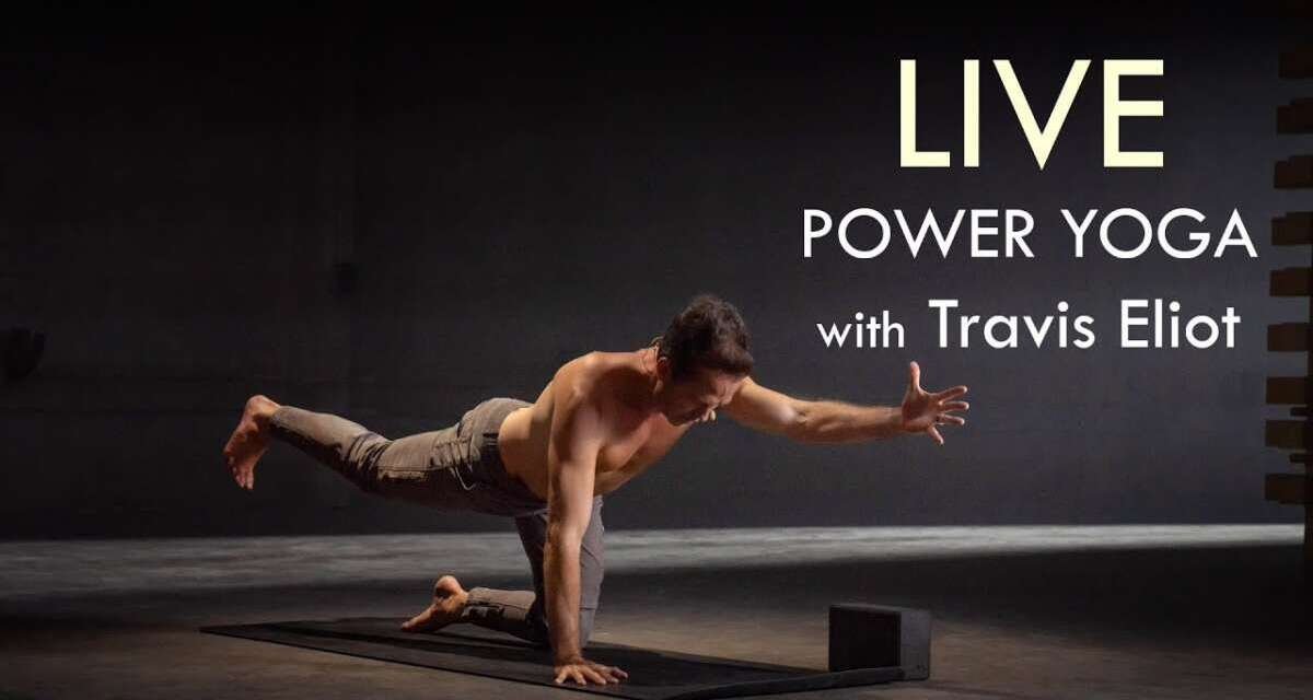 LIVE 90min. Yoga Class With Travis — Wed, March 10th At 8am (Pacific Standard Time)