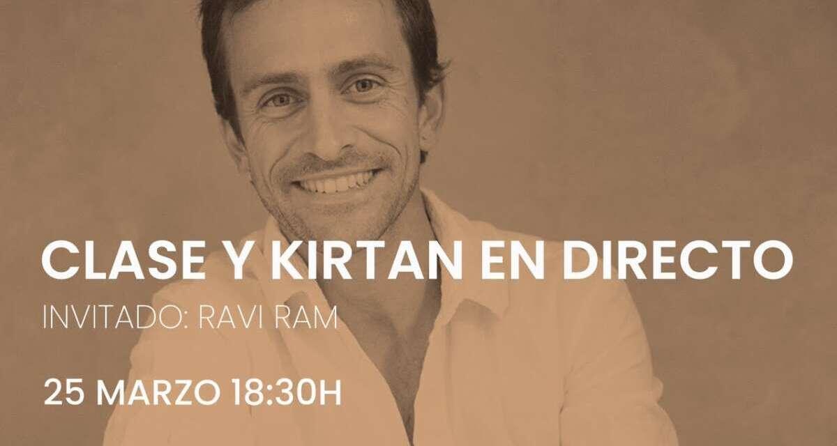 Yoga Y Kirtan En Directo Con Ravi Ram (Próximo Jueves 25 De Marzo)