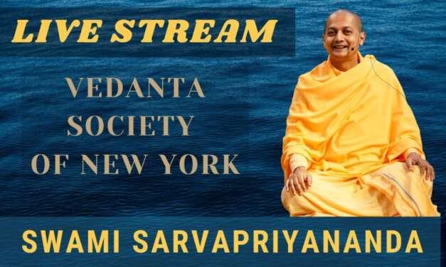 The Yoga Of Love  (Live Stream) | Swami Sarvapriyananda