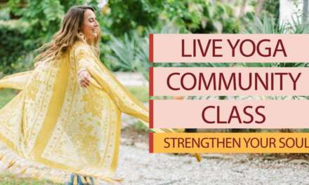 Live Yoga Class With Allie VF | Strengthen Your Soul & Tap Into Your Wisdom