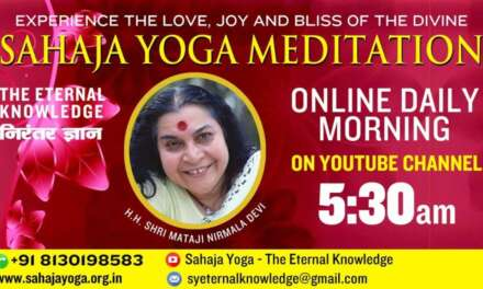 Aug 12, 2020 | Morning Meditation | Sahaja Yoga- The Eternal Knowledge
