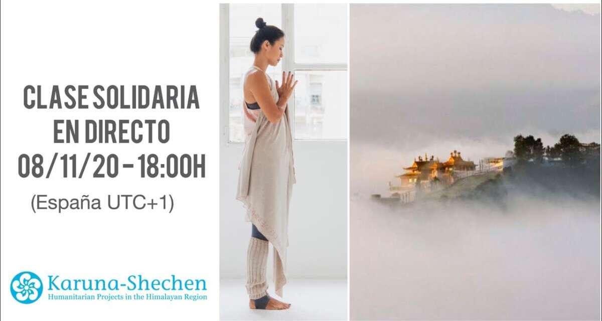 Yoga Solidario En Directo Para Karuna-Shechen