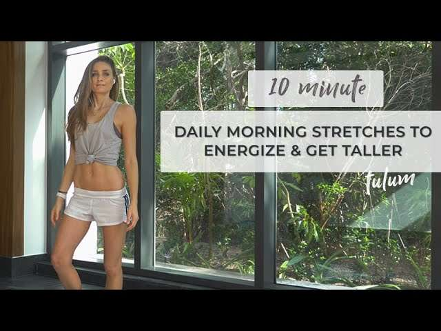 10 Mins Yoga For Back Strength – Flow With Katie