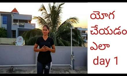 How To Start YOGA Day 1 In Telugu For Beginners ||Best Warmup& YOGA||sony Reddy Official.