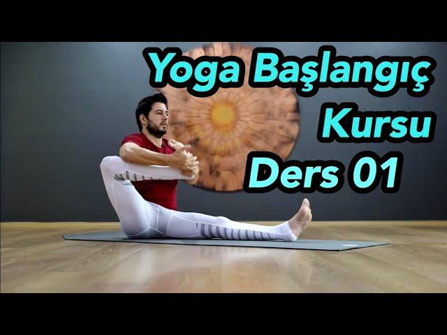 Yoga Kursu | Yoga Ultra Başlangıç Ders 01 (Temel Başlangıç Programı)