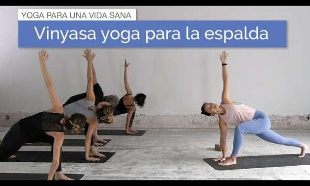 Vinyasa Yoga Para La Espalda | Alta, Media Y Baja