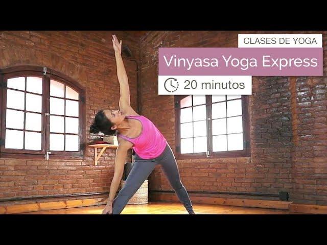 Vinyasa Yoga Exprés (20 Minutos)