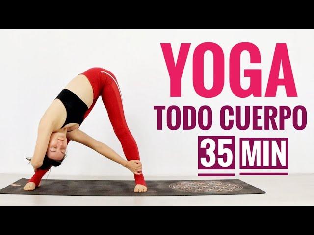 YOGA PARA TODO CUERPO | YOGA PARA ESPALDA Y PIERNAS | 35 MIN ELENA MALOVA